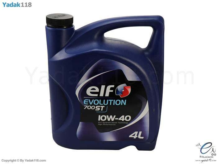 روغن موتور ‏ELF‏ مدل  ‏Evolution 10w 40 – 700st‎‏  اصل - چهار لیتری